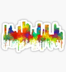 Houston, Texas Skyline - SG Sticker