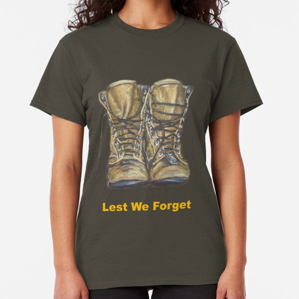 REMEMBRANCE DAY poppy army navy lest we forget military Kids Boys Girls T SHIRT
