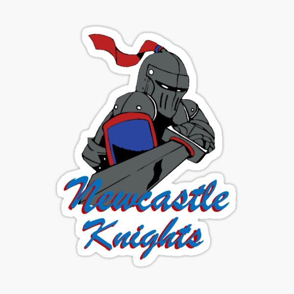 Knights of Newcastle Sticker