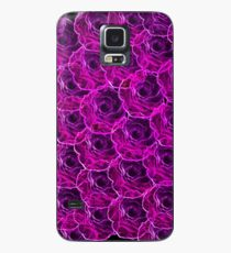 glow rose Case/Skin for Samsung Galaxy