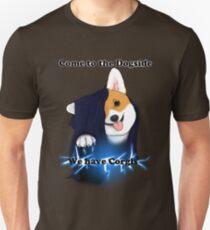 Komm zum Dogside, wir haben Corgis! Slim Fit T-Shirt