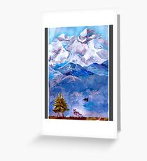(ODD.M.) Graphic Novel Cover Greeting Card