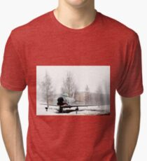 Sabre toothed Tri-blend T-Shirt