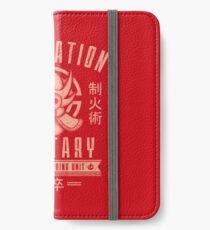 Avatar Fire Nation iPhone Wallet/Case/Skin