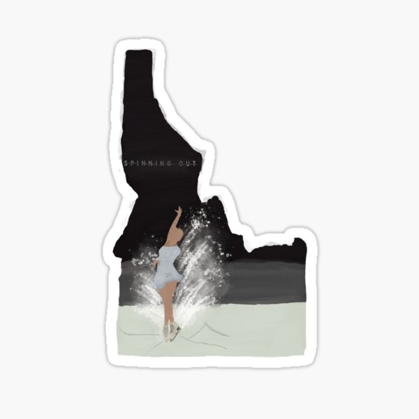 Spinning Out Idaho Sticker