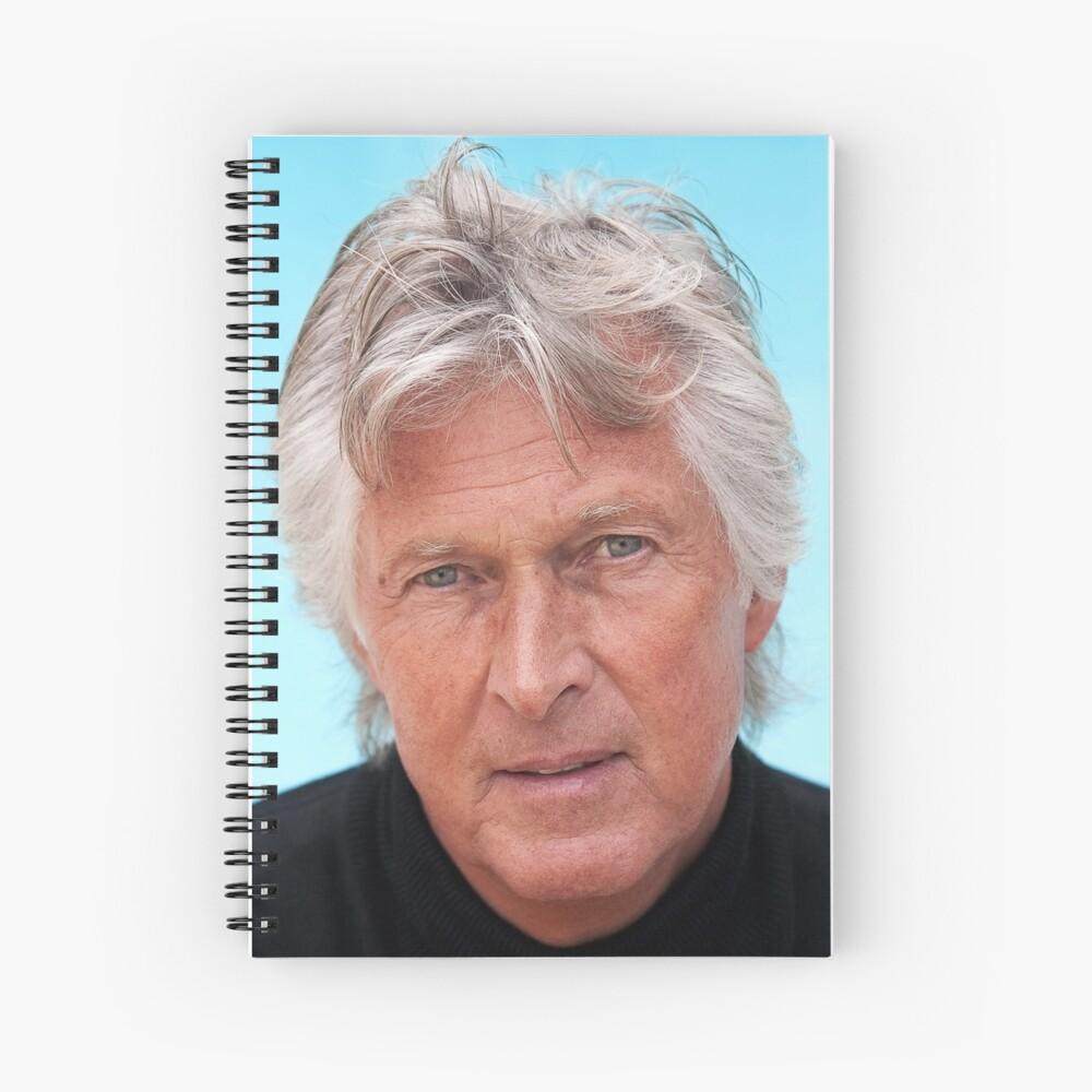 Alan Hydes the Portrait Artist Spiral Notebook