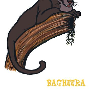 Bagheera the panther by Amberdreams