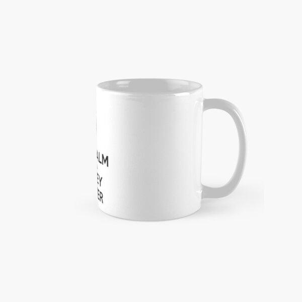 Keep Calm and Call Harvey Specter (Black) Classic Mug