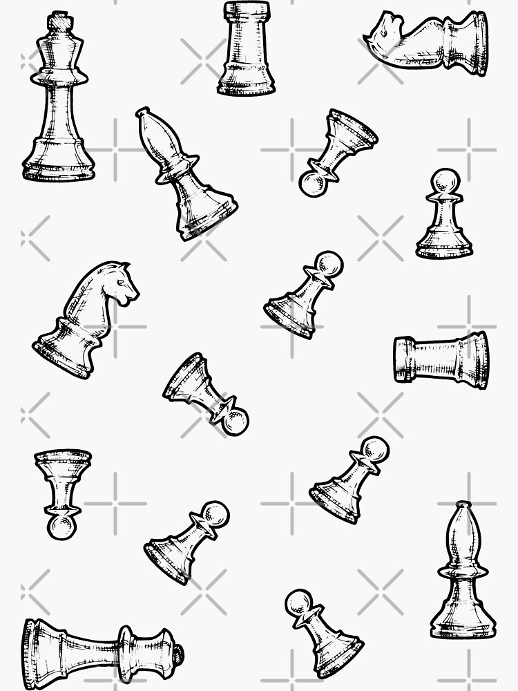 Complete Chess Set by ChloeJoyeux