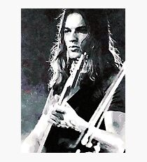 David Gilmour Photographic Print