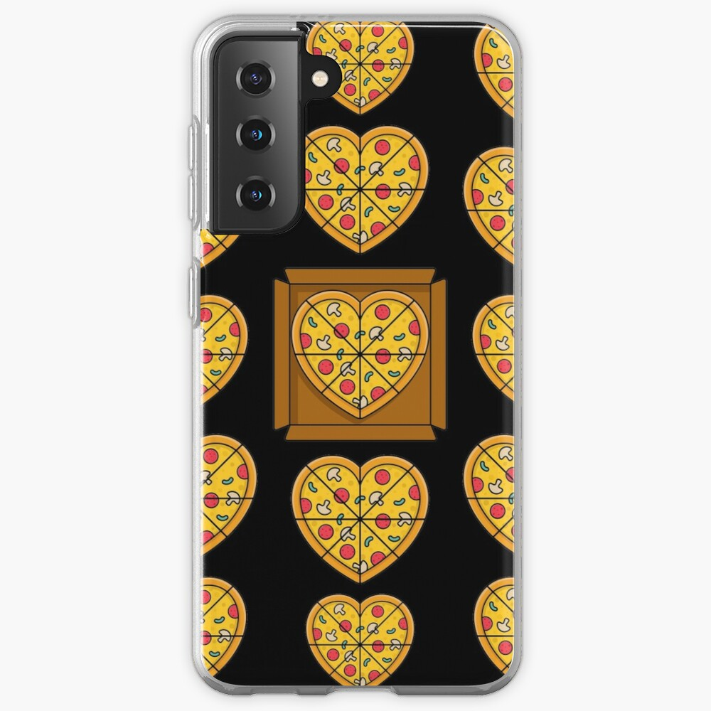 Boxes of Pizza Hearts Case & Skin for Samsung Galaxy