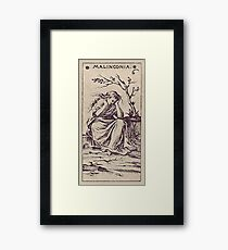 Malinconia Tarot Framed Print
