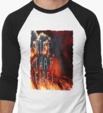 RIDE THAT FIRE Men's Baseball ¾ T-Shirt
