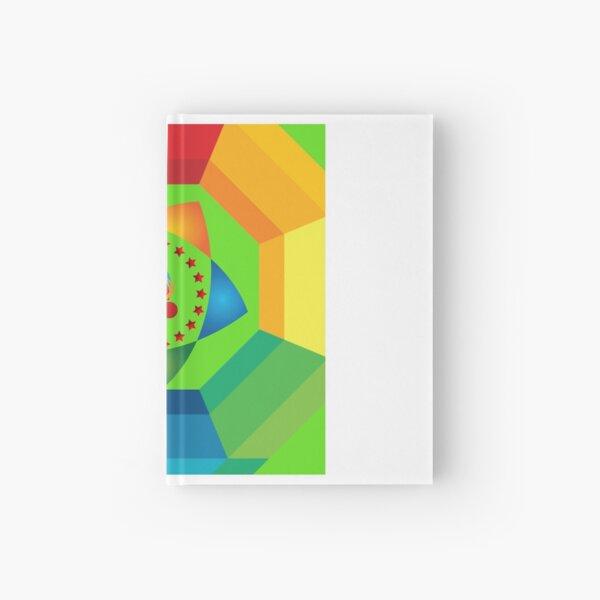 Colourfull art Hardcover Journal