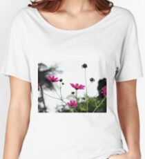 Pink Anemones Women's Relaxed Fit T-Shirt