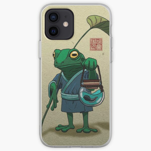 Hermit Toad (Picture 02) iPhone Soft Case