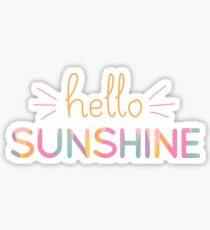 Hello Sunshine! Sticker