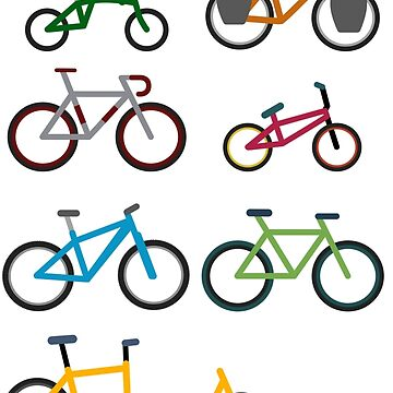 UNITED COLORS OF BICYCLES. by xgradoux