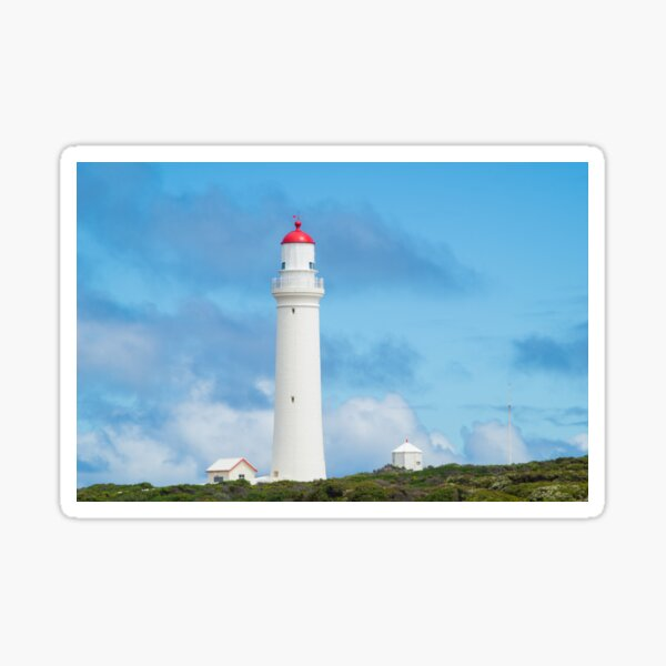 Cape Nelson Lighthouse near Portland, Australia Sticker