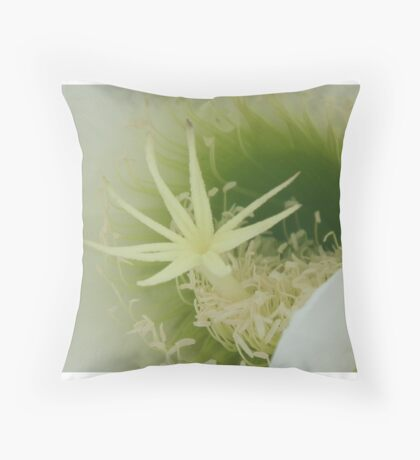 Into the flower Throw Pillow