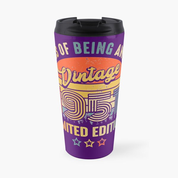 70 years of being awesome Vintage 1951 Limited Edition Travel Mug
