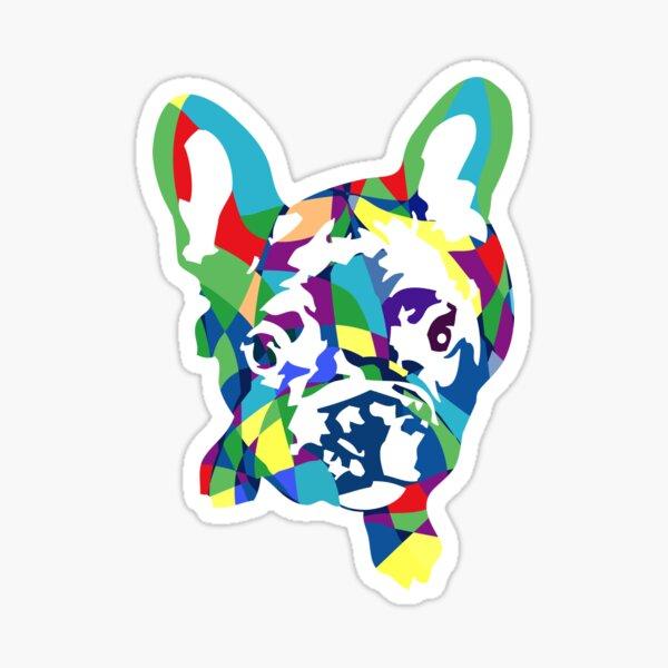 Französische Bulldogge Welpe Sticker