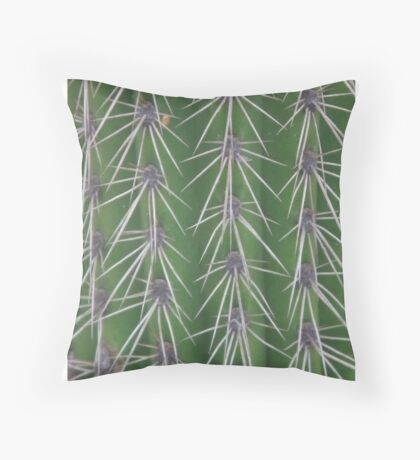 Touch me if you dare Throw Pillow