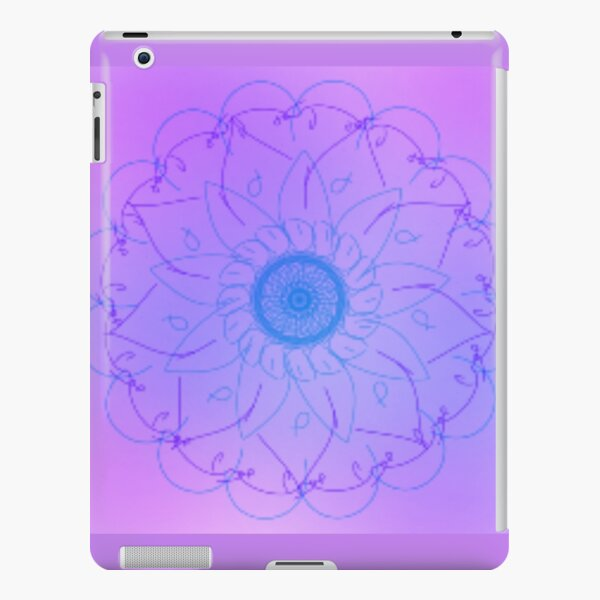 Purple and Pink Mandala  iPad Snap Case