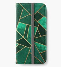 Emerald and Copper iPhone Wallet/Case/Skin
