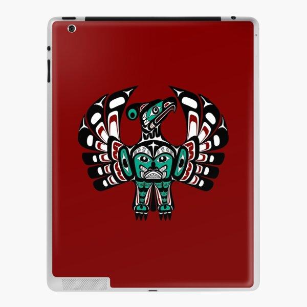 Northwest Pacific coast Haida art Thunderbird iPad Skin
