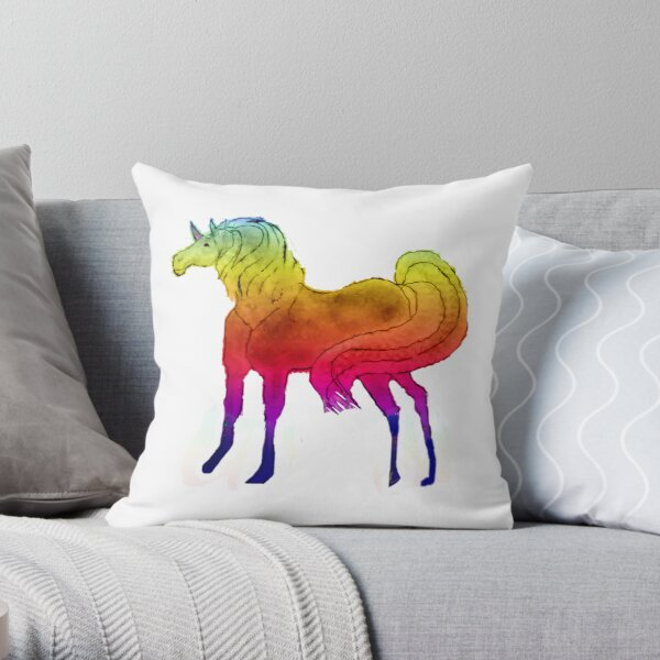 Unicorn Dream Throw Pillow