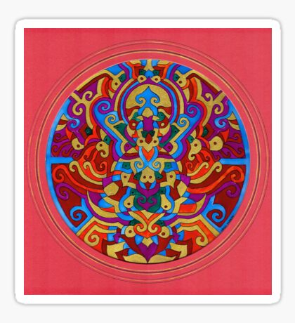 Himalayan Inspirations`The Hidden Buddha' Sticker