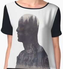 Lincoln - The 100 - Forest Women's Chiffon Top