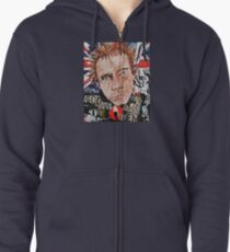 Rotten Made In Britain Zipped Hoodie