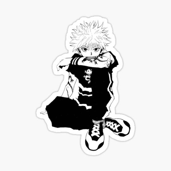 Funky Killer Boy Sticker