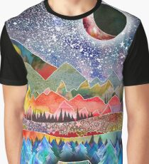 Camping under the moon Graphic T-Shirt