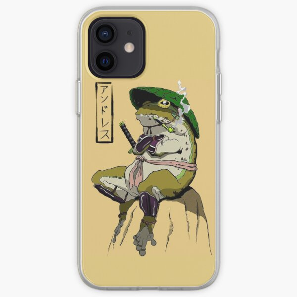 Hermit Toad (Picture 01) iPhone Soft Case