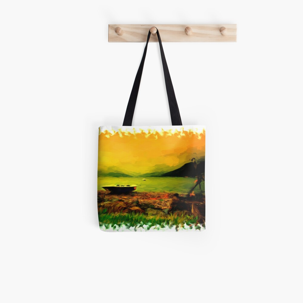 Sunset Over Holy Loch Tote Bag