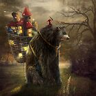 """A Bear Who Carried A Kingdom"" by Matylda  Konecka Art"