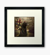 """A Bear Who Carried A Kingdom"" Framed Print"