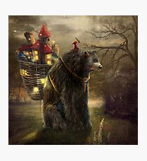 """""""A Bear Who Carried A Kingdom"""" Photographic Print"""