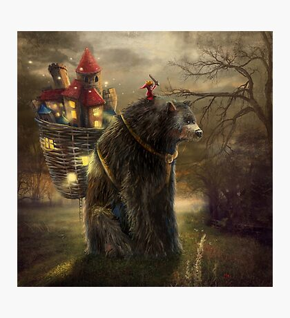 """A Bear Who Carried A Kingdom"" Photographic Print"