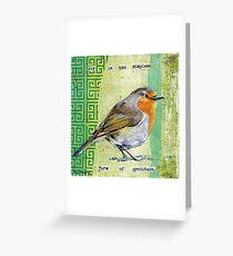 Joy Bird Greeting Card