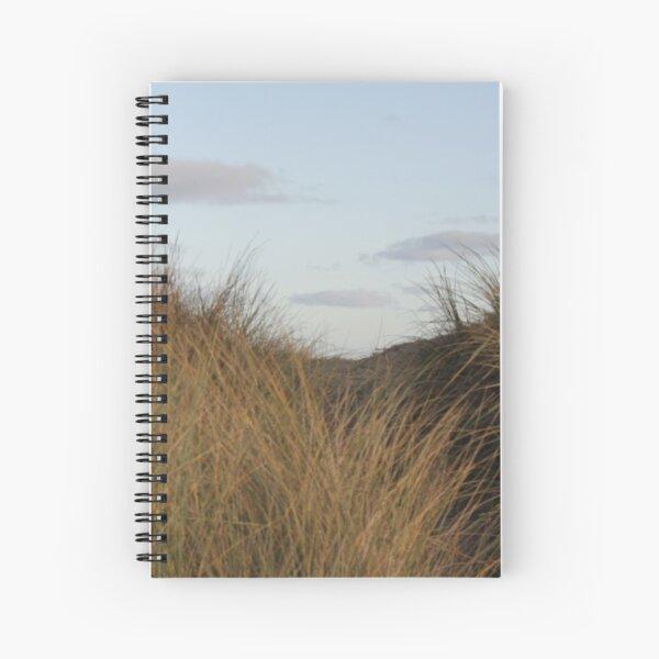 Irish Beach at Dusk Spiral Notebook