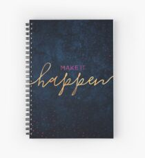 Cuaderno de espiral Make it happen / 2