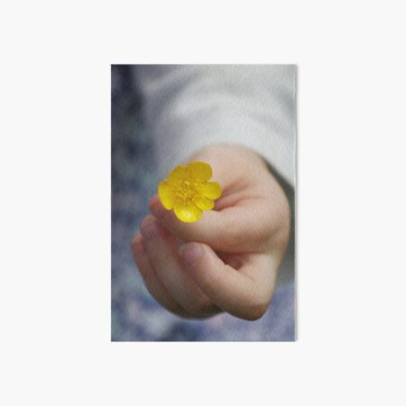 Buttercup for You Art Board Print
