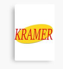 Kramer - Seinfeld Canvas Print
