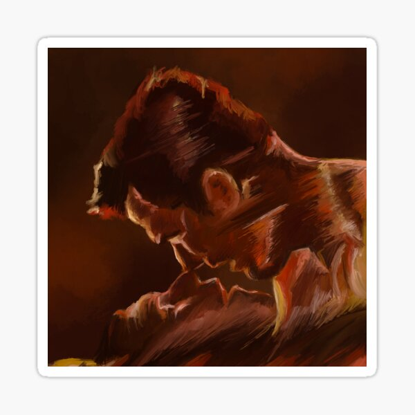 The Kiss of the Vampire (Claes Bang and Dolly Wells) Sticker