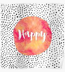 glücklich Poster