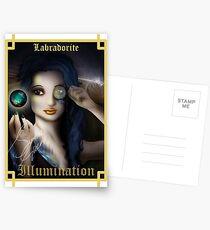 Gemstone Oracle Card - Illumination Postcards